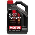 Моторное масло MOTUL 6100 SYNERGIE+ 10W-40 (Канистра 4л)