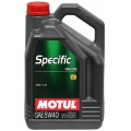 Моторное масло MOTUL SPECIFIC CNG/LPG 5W-40 (Канистра 5л)