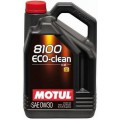 Моторное масло MOTUL 8100 ECO-CLEAN 0W-30 (Канистра 5л)