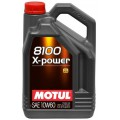 Моторне масло MOTUL 8100 X-POWER 10W-60 (Каністра 5л)