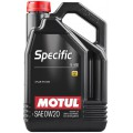 Моторное масло MOTUL SPECIFIC 5122 0W-20 (Канистра 5л)