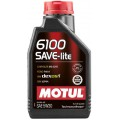 Моторное масло MOTUL 6100 SAVE-LITE 5W-30 (Канистра 1л)