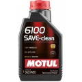 Моторное масло MOTUL 6100 SAVE-CLEAN 5W-30 (Канистра 1л)