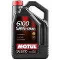 Моторное масло MOTUL 6100 SAVE-CLEAN 5W-30 (Канистра 5л)