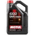 Моторне масло MOTUL 6100 SAVE-CLEAN + 5W-30 (Каністра 5л)