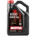 Моторное масло MOTUL 6100 SAVE-LITE 5W-20 (Канистра 5л)