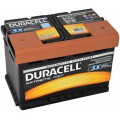 Акумулятор 70Ah-12V Duracell Extreme (278x175x190), R, EN720A