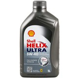 Моторное масло SHELL Helix Ultra SAE 5W-40 SN / CF (Канистра 1л)