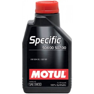 Моторное масло MOTUL SPECIFIC 504 00 507 00 5W-30 (Канистра 1л)