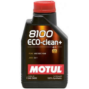 Моторное масло MOTUL 8100 ECO-CLEAN+ 5W-30 (Канистра 1л)