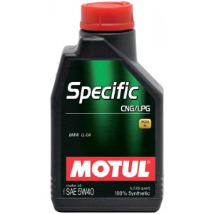 Моторное масло MOTUL SPECIFIC CNG/LPG 5W-40 (Канистра 1л)