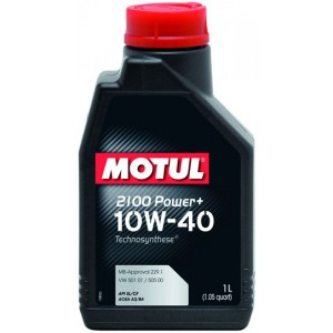 Моторне масло MOTUL 2100 POWER + 10W-40 (Каністра 1л)