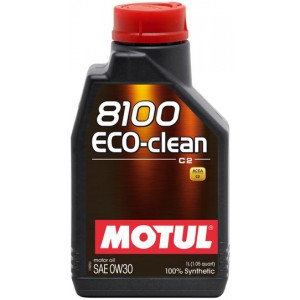 Моторное масло MOTUL 8100 ECO-CLEAN 0W-30 (Канистра 1л)
