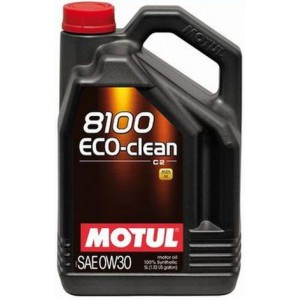 Моторне масло MOTUL 8100 ECO-CLEAN 0W-30 (Каністра 5л)