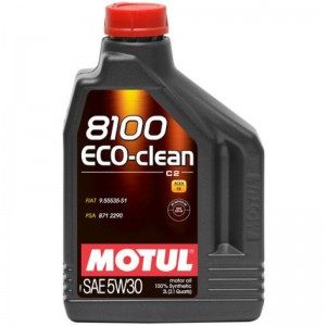 Моторне масло MOTUL 8100 ECO-CLEAN 5W-30 (Каністра 2л)