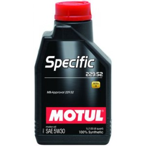 Моторное масло MOTUL SPECIFIC 229.52 5W-30 (Канистра 1л)