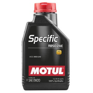 Моторное масло MOTUL SPECIFIC RBS0-2AE 0W-20 (Канистра 1л)