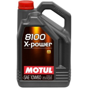 Моторное масло MOTUL 8100 X-POWER 10W-60 (Канистра 4л)