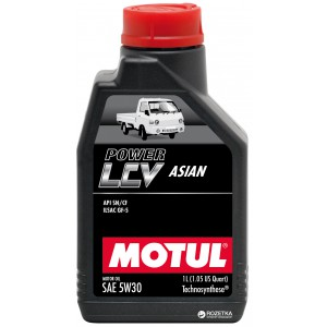 Моторное масло MOTUL POWER LCV ASIAN 5W-30 (Канистра 1л)
