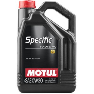 Моторное масло MOTUL SPECIFIC 504 00 507 00 0W-30 (Канистра 5л)
