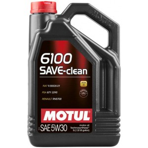 Моторне масло MOTUL 6100 SAVE-CLEAN 5W-30 (Каністра 5л)