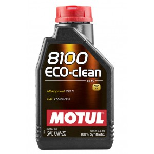 Моторное масло MOTUL 8100 ECO-CLEAN 0W-20 (Канистра 1л)