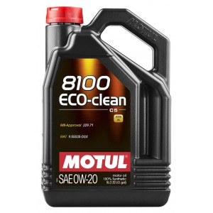 Моторне масло MOTUL 8100 ECO-CLEAN 0W-20 (Каністра 5л)