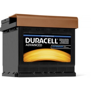 Аккумулятор  60Ah-12V Duracell Advanced (233x173x203), R,EN510A