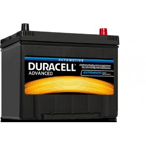 Акумулятор 70Ah-12V Duracell Advanced (260х174х200), R, EN600A, Азія