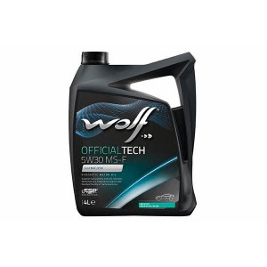 Моторное масло Wolf Officialtech 5W-30 MS-F (Канистра 4л)